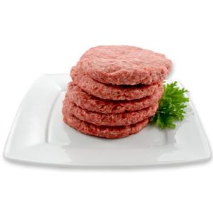 beef hamburger pattie
